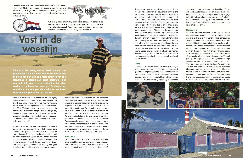 Reisverslag Maart 2013