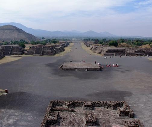 Mexico, Pyramids Teotihuacán (5)