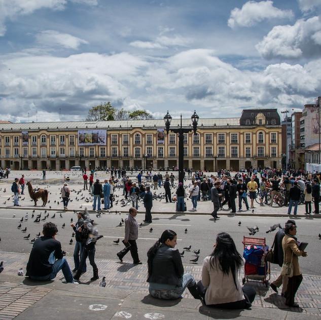 Colombia, Bogotá, Plaza (1)