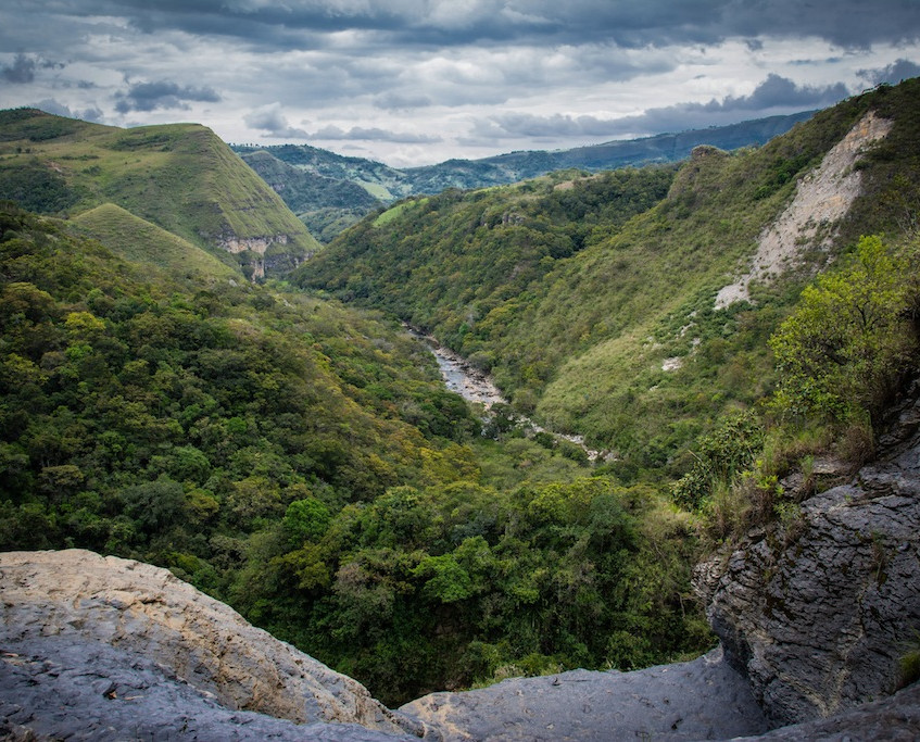 Colombia, Santa Sofia, Paseo del Angel (2)