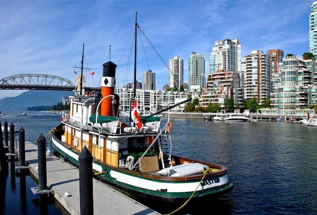 Canada, Vancouver Grandville Island(