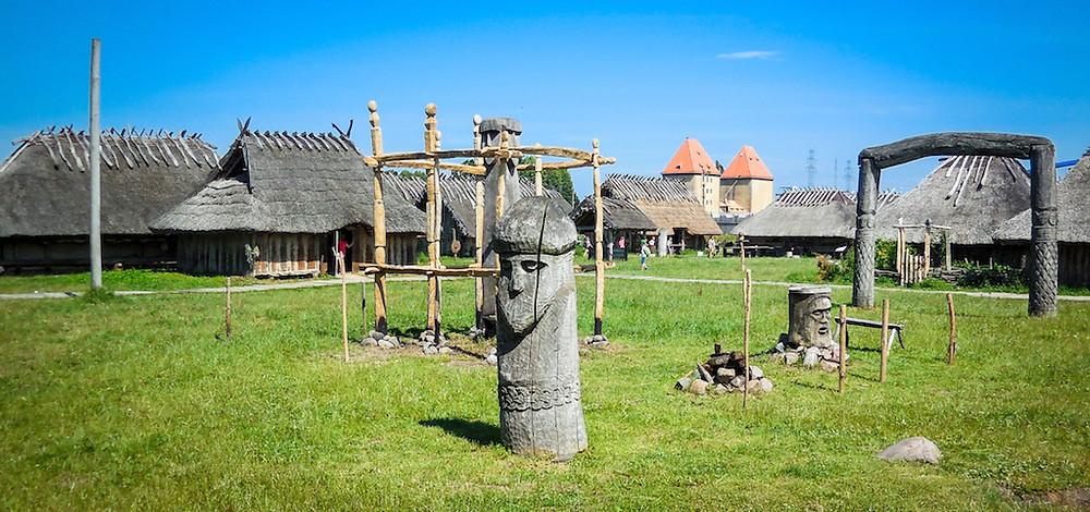 Polen- een nederzetting in Wolin