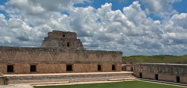 Mexico, Ruins Uxmal (3)