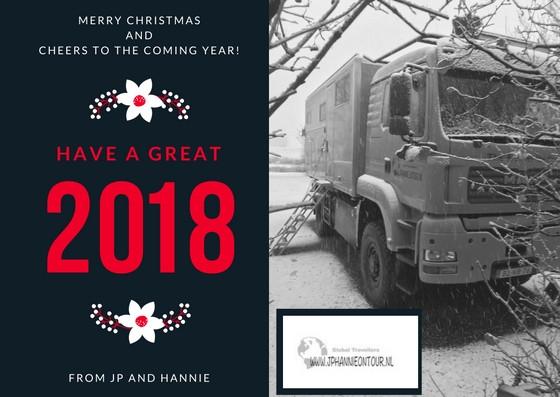 Kerstgroet JP en Hannie | jphannieontour