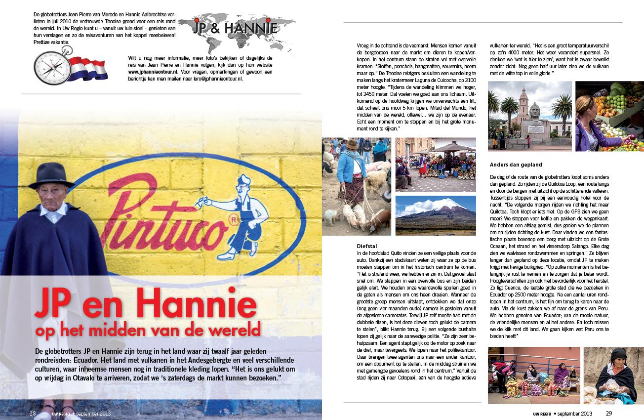 Reisverslag September 2013