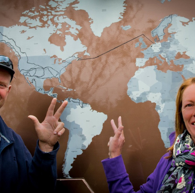 JP and Hannie 3 years on World Tour