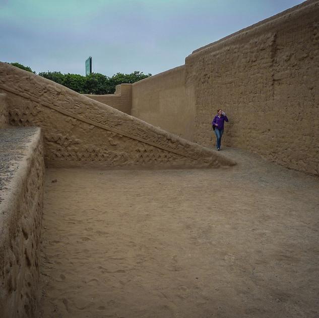 Peru, Trujillo; archeological site (2)