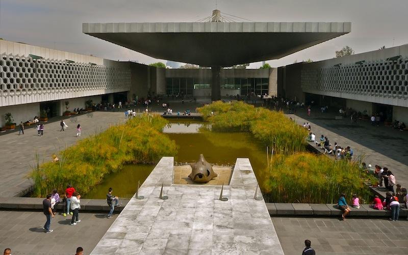 Mexico, Cuidad de Mexico; Anthropology Museum (3)