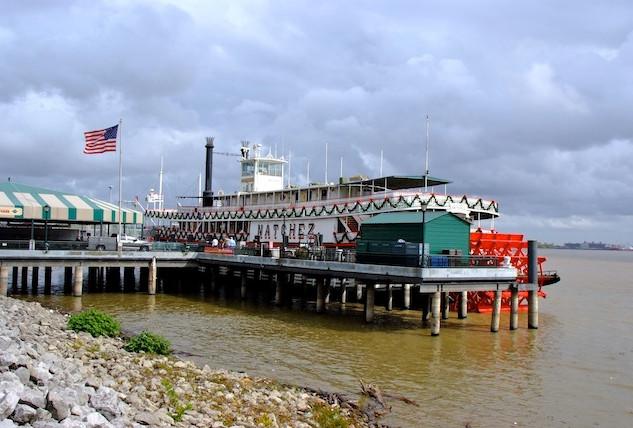 USA, New Orleans; Mississipi River