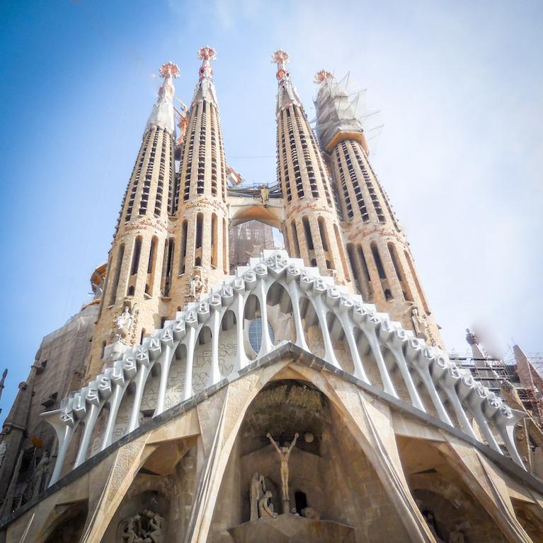 Spanje-Barcelona:La Sagrada Familia (1)