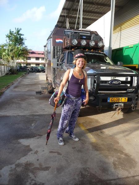 Frans Guyana, Cayenne; Goodbye