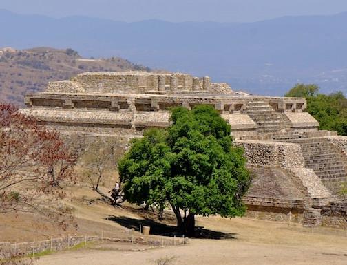 Mexico, Oaxaca; Mont Alban 3