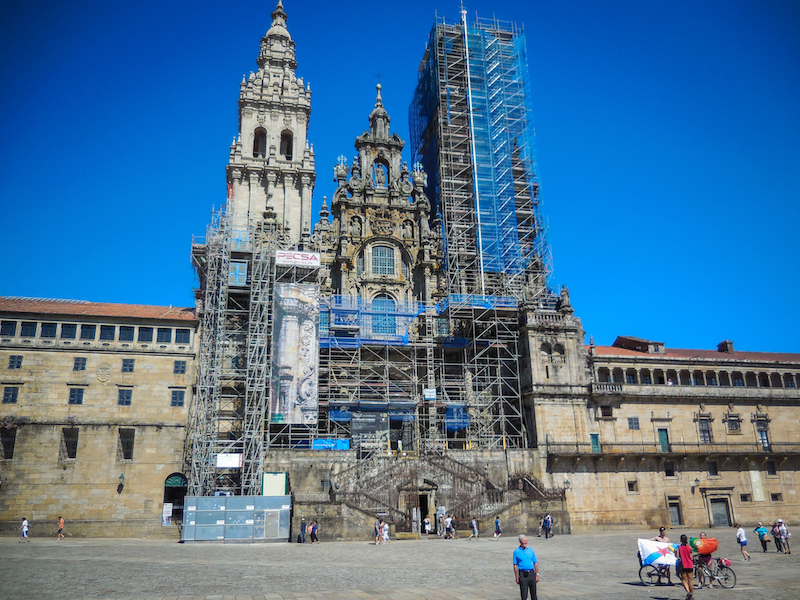 Spanje: Santiago de Compostella (3)