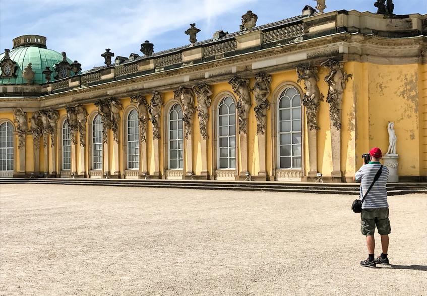 Duitsland-Potsdam-Schloss Sanssouci