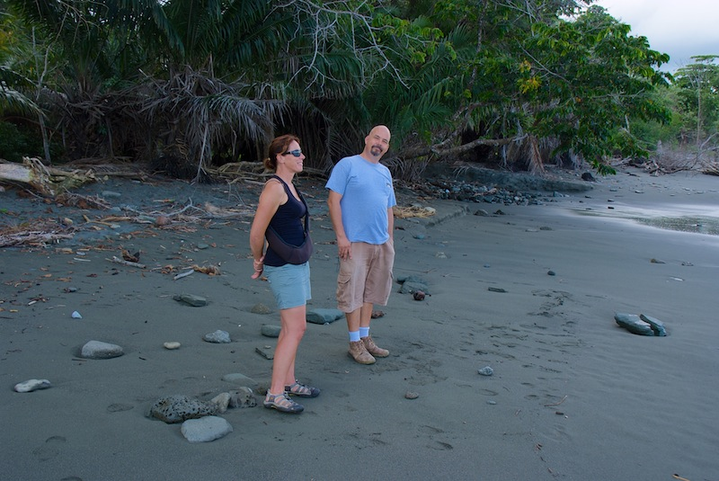 Costa Rica,Puerto Jimenez;on the road to Carate (2)