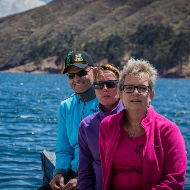 Bolivia, ponton on Lago Titicaca (4)