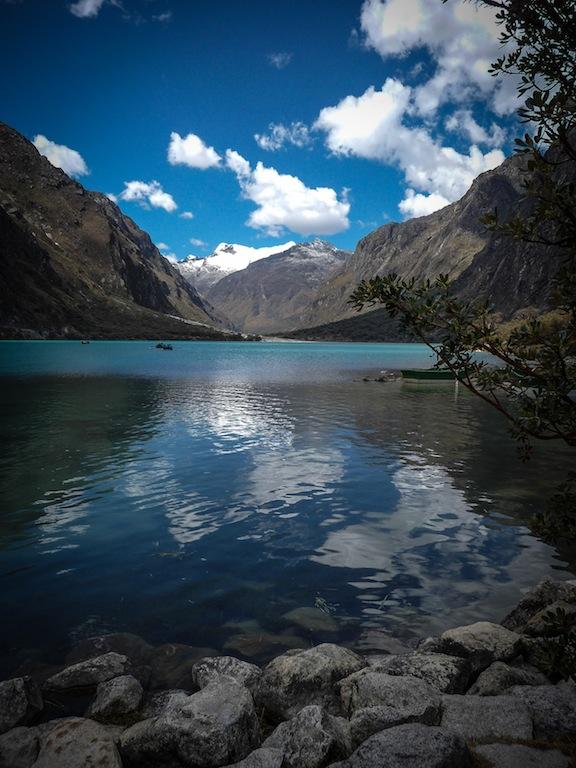 Peru, Laguna Llanganuco (1)