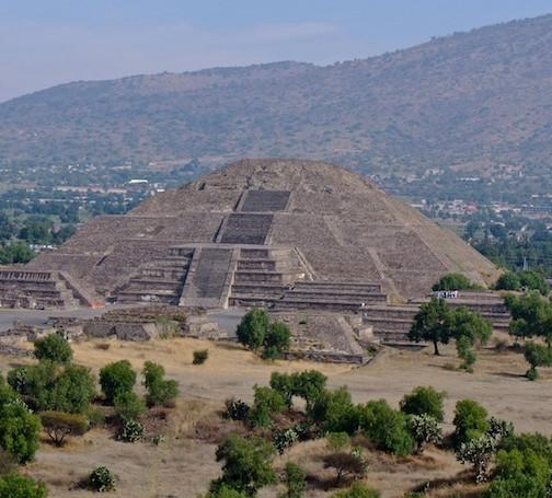Mexico, Pyramids Teotihuacán (1)