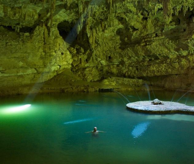 Mexico, Cenote Suytun (2)