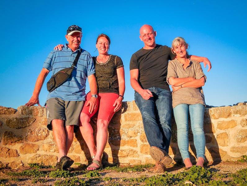 Spanje: Villamayor de Mojardin, samen met Wim en Anja