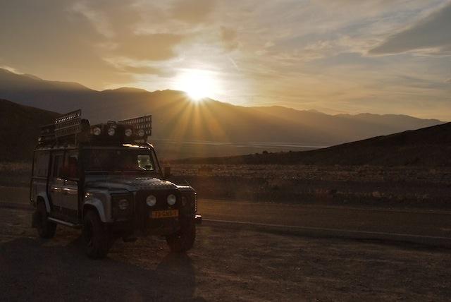 Death Valley, Sunset