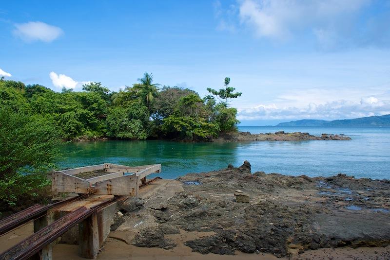 Costa Rica,Drake Bay; Beach View (2)