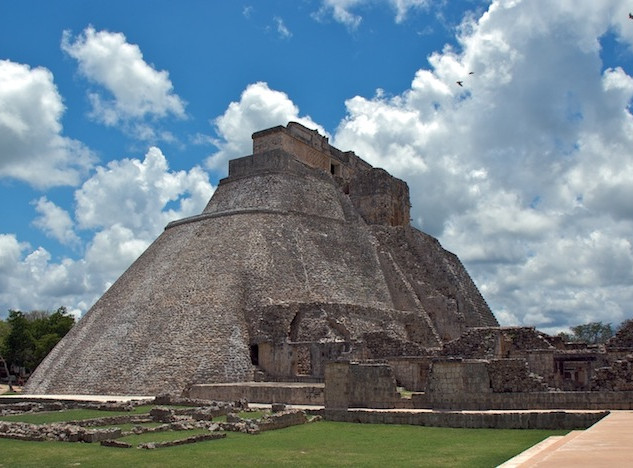 Mexico, Ruins Uxmal (1)