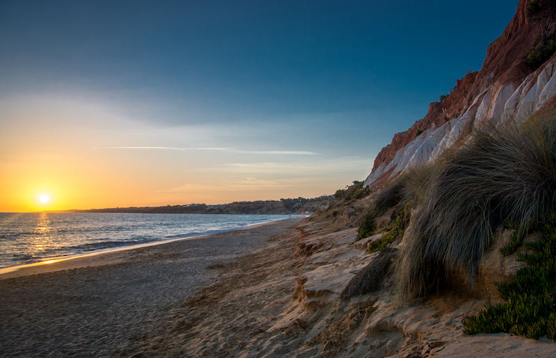 Portugal: Praia Falésia (5)