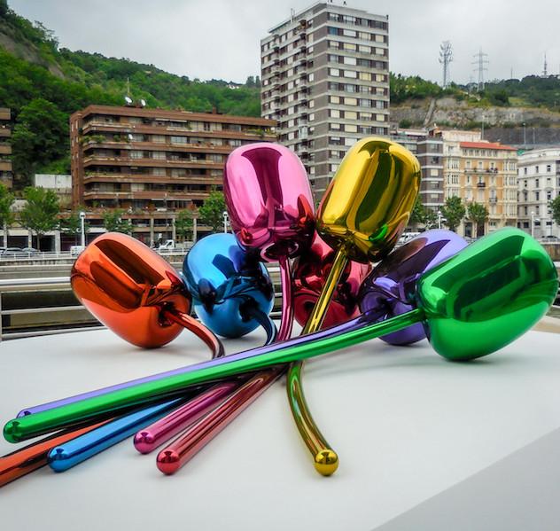 Spanje: Bilbao, Guggenheim museum (4)