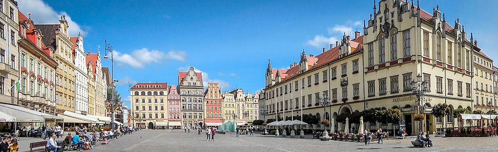 Afbeelding Marktplein in Wroclaw (Polen) | jphannieontour