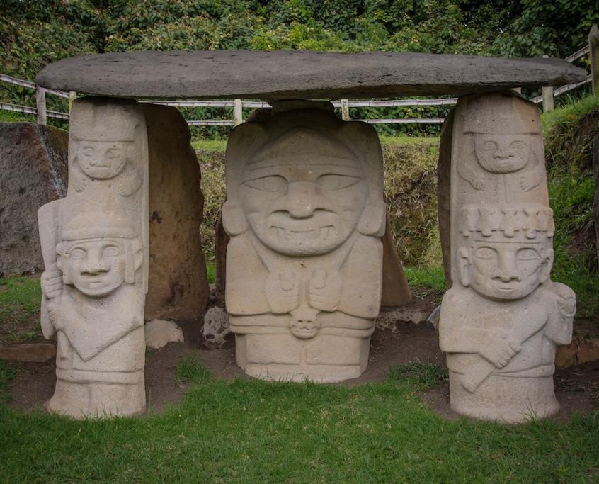 Colombia, San Agustin; archeological site (2)
