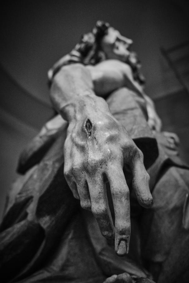 Detail von der wunderschönen Nenninger Pietà