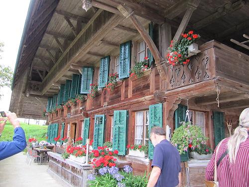Schürch Homestead near Sumiswald Switzerland