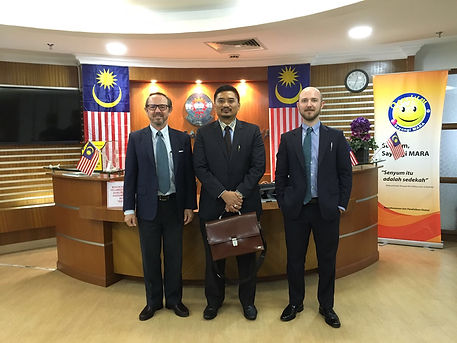Seagate Malaysia management meeting with MARA