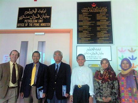 William Lawton invited to advie Brunei
