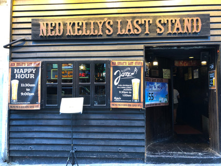 Reporting From Ned Kelly's Last Stand, Hong Kong