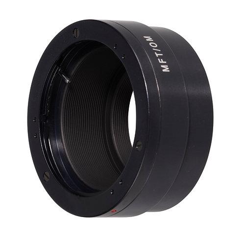 Micro 4/3 camera to Olympus OM lens