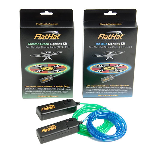 "FlatHat Lighting Kit for 16"" Drone Pads"