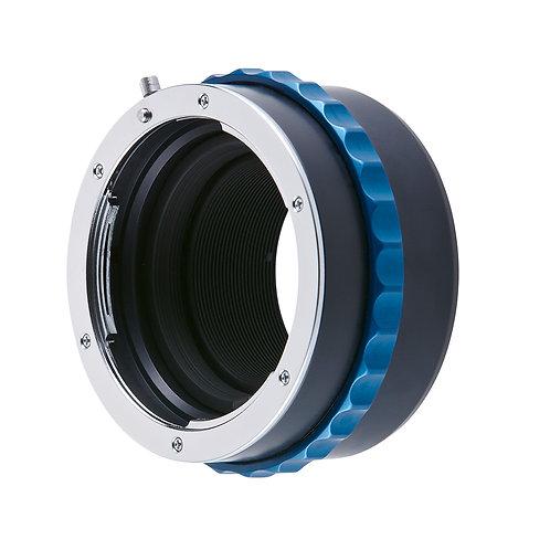 Micro 4/3 camera to Nikon lens