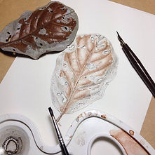 leaf - pen and ink stipple.JPG
