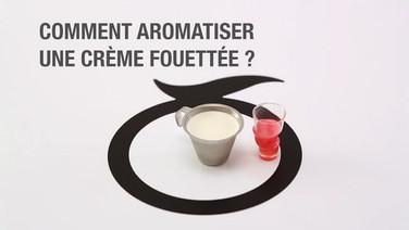 Recette Mövenpick: comment aromatiser une crème fouétée?
