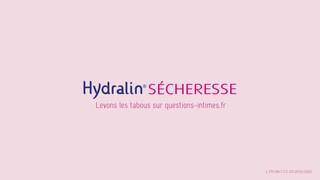 Musique proposée pour une pub Hydralin