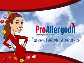 Campagne publicitaire: Pro Allergodil