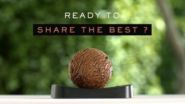 Campagne Mövenpick: parfum chocolat