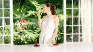 Campagne Mövenpick: parfum framboise - 2015