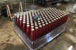 Palettisation des bouteilles
