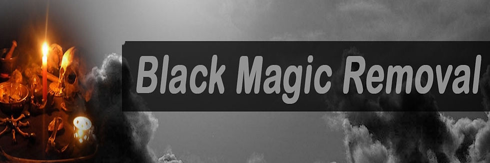 Black magic spell