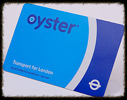 London Oyster Pre-Payment Travel Card