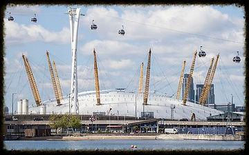 Millenium Dome & Emirate Air Line, London