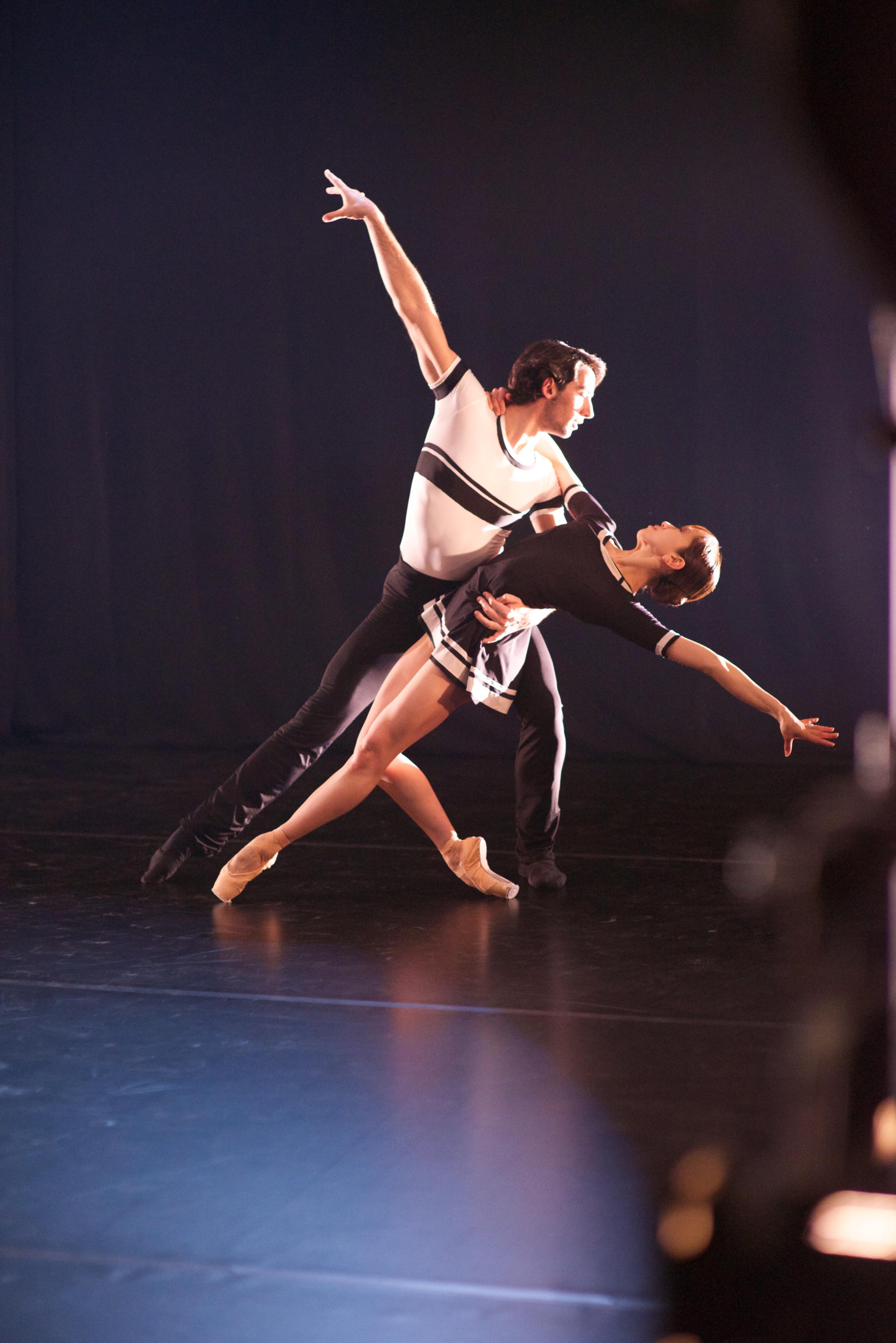 Erina Takahashi and Esteban Berlanga